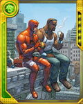 Uptown Team Daredevil and Luke Cage