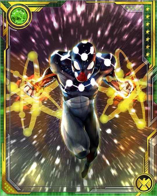 Cosmic spider man - photo#6