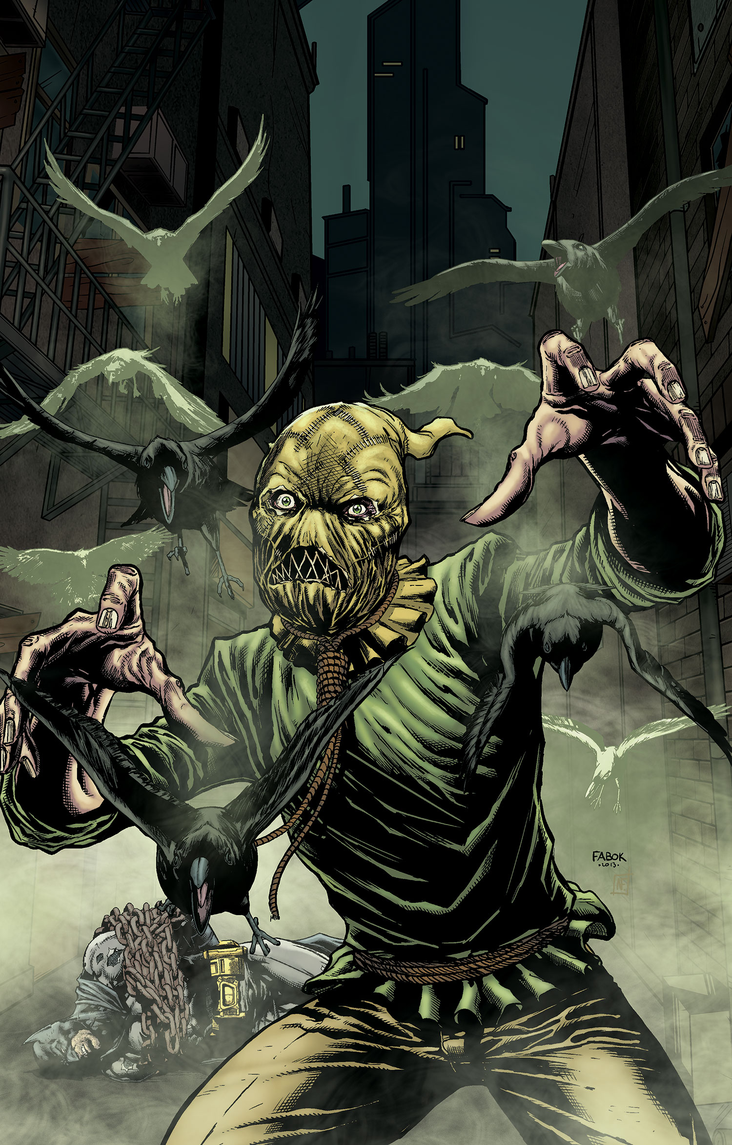 Jonathan Crane (Prime Earth) | DC Database | Fandom powered by Wikia