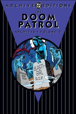 Cover for the Doom Patrol Archives Vol. 5 Trade Paperback