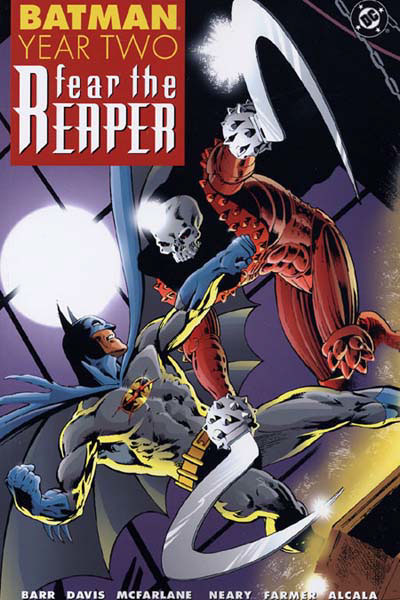 batman year two fear the reaper collected dc