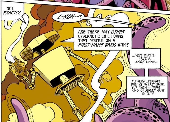 Resultado de imagem para L-Ron dc comics