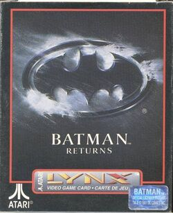 Batman Returns Atari Box