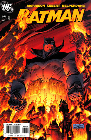 Cover for Batman #666 (2007)