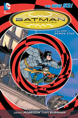 Cover for the Batman Incorporated: Demon Star Trade Paperback