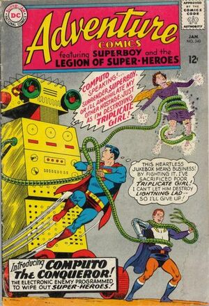 Cover for Adventure Comics #340 (1966)