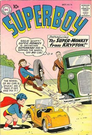 Cover for Superboy #76 (1959)