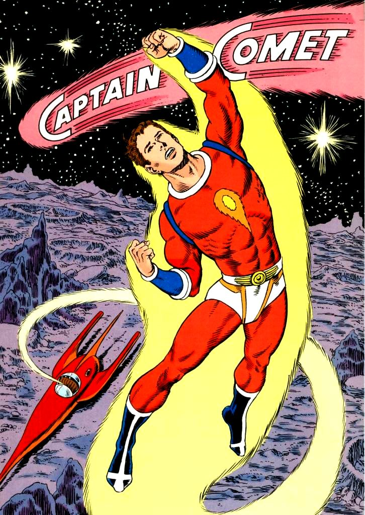 Image result for captain comet