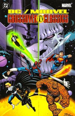 Cover for the DC/Marvel: Crossover Classics Vol 1 4 Trade Paperback
