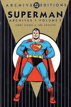 Cover for the The Superman Archives Vol. 5 Trade Paperback