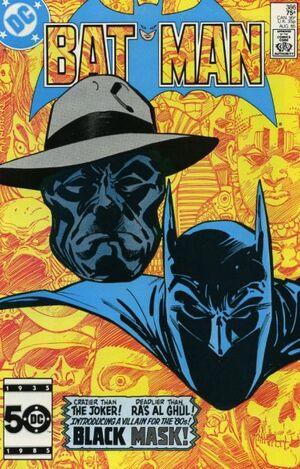 Cover for Batman #386 (1985)