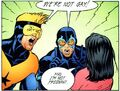 Booster Gold Blue Beetle not gay