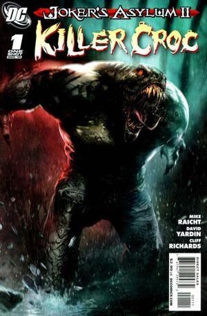 Cover for Joker's Asylum #1 (2010)