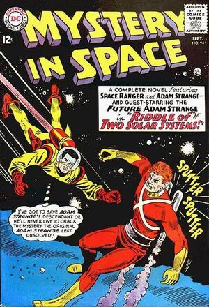 Cover for Mystery in Space #94 (1964)