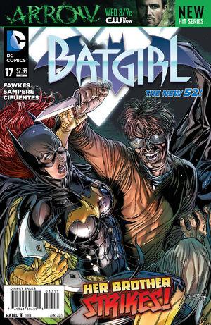Cover for Batgirl #17 (2013)