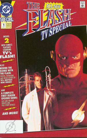 Cover for Flash TV Special #1 (1991)