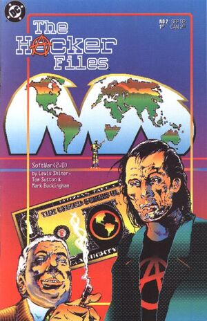 Cover for Hacker Files #2 (1992)