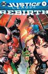 Justice League: Rebirth Vol 1 1