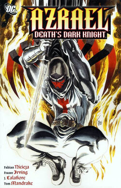 Cover for the Azrael: Death's Dark Knight Trade Paperback
