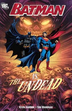 Cover for the Batman vs. The Undead Trade Paperback