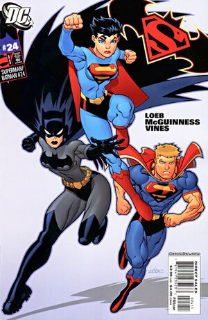 Cover for Superman/Batman #24 (2006)