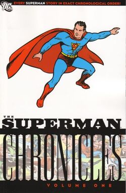 Cover for the Superman Chronicles Vol. 1 Trade Paperback