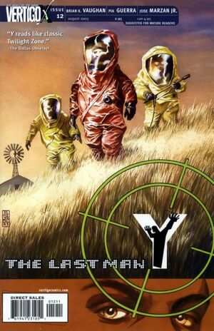 Cover for Y: The Last Man #12 (2003)