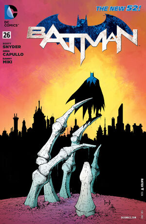 Cover for Batman #26 (2014)