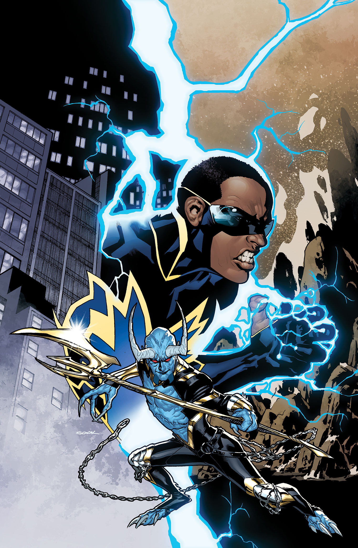 BLACK LIGHTNING #1 {DC} 2009,