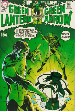 Cover for Green Lantern #76 (1970)