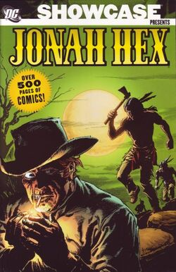 Cover for the Showcase Presents: Jonah Hex Vol. 1 Trade Paperback