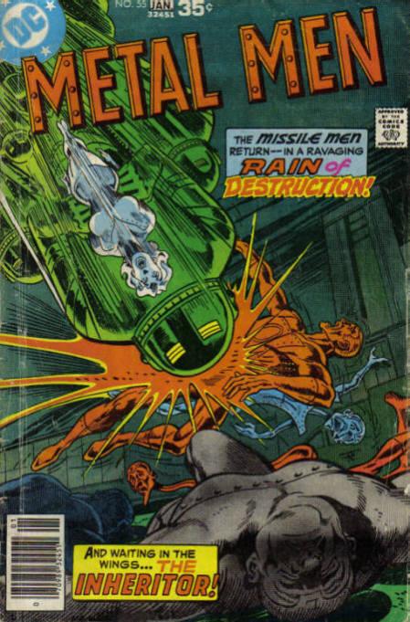 Metal Men Vol 1 55 | DC Database | Fandom powered by Wikia