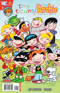 Tiny Titans Little Archie and his Pals Vol 1 1