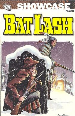 Cover for the Showcase Presents: Bat Lash Vol. 1 Trade Paperback