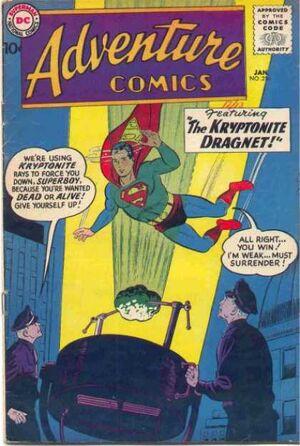 Cover for Adventure Comics #256 (1959)