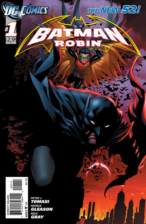 Cover for Batman and Robin #1 (2011)