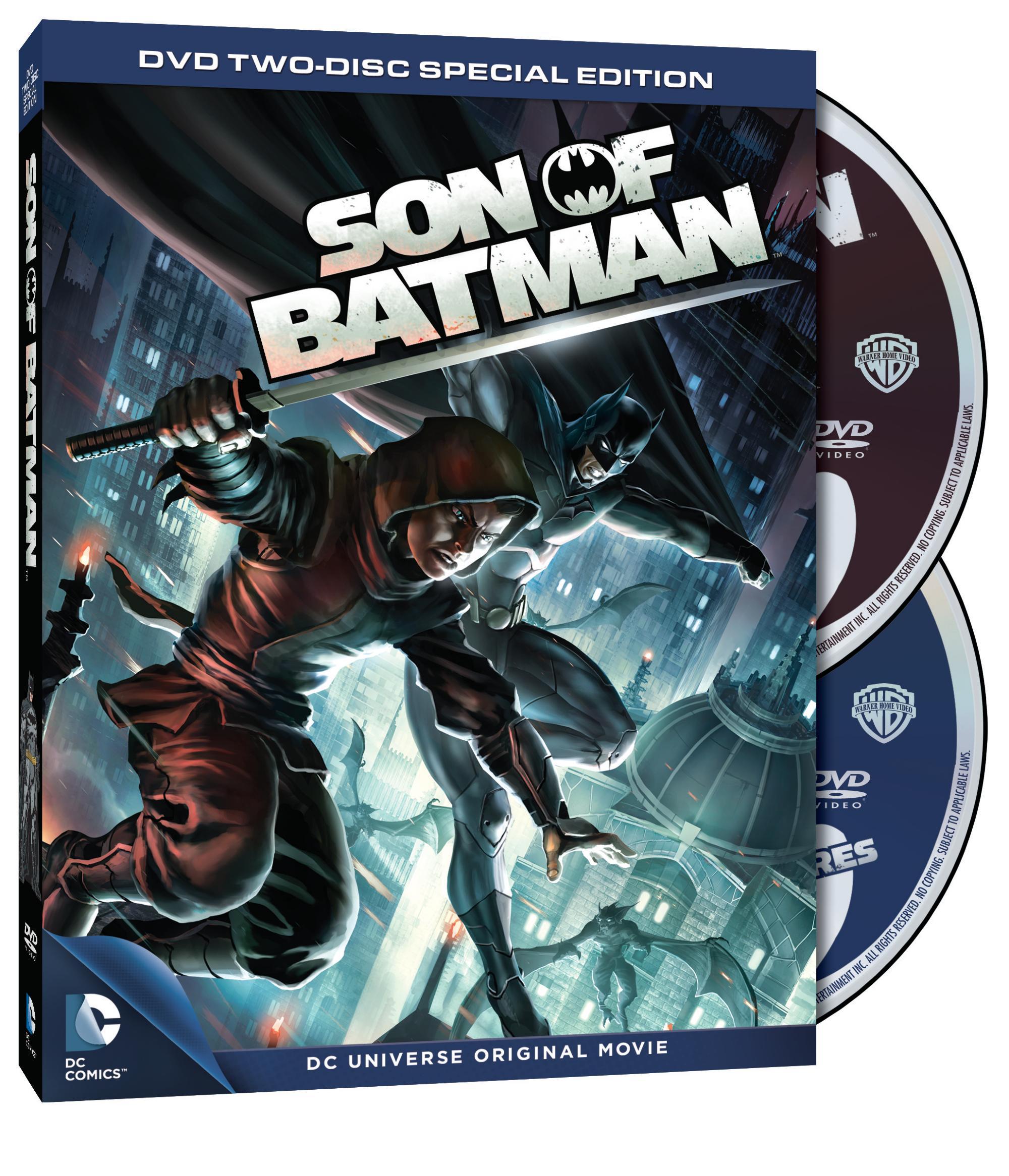 Son of Batman cover