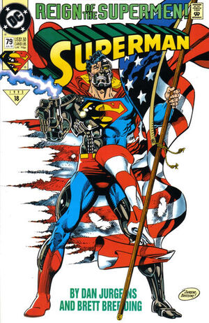 Cover for Superman #79 (1993)