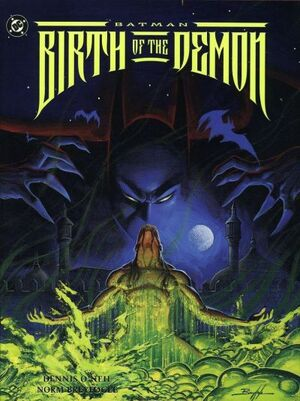 Cover for Batman: Birth of the Demon #1 (1992)