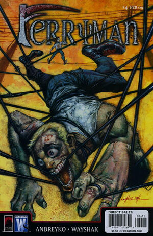 Cover for Ferryman #4 (2009)