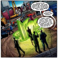 Pandora Green Lantern Corps 001