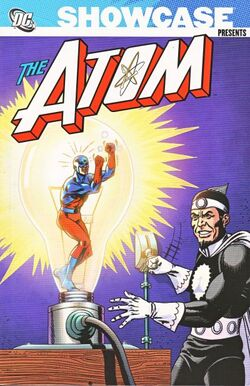 Cover for the Showcase Presents: Atom Vol. 1 Trade Paperback