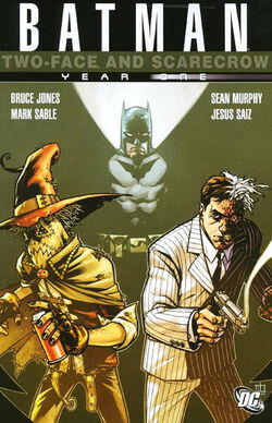Cover for the Batman: Two-Face and Scarecrow Year One Trade Paperback