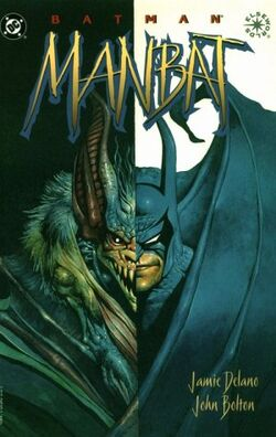 Cover for the Batman: Manbat Trade Paperback