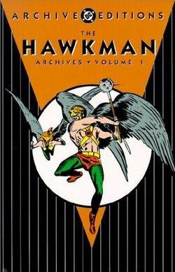 Cover for the The Hawkman Archives Vol. 1 Trade Paperback