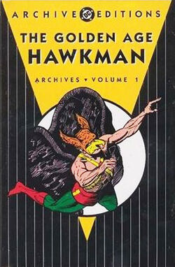 Cover for the The Golden Age Hawkman Archives Vol. 1 Trade Paperback