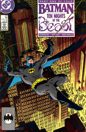 Cover for Batman #417 (1988)