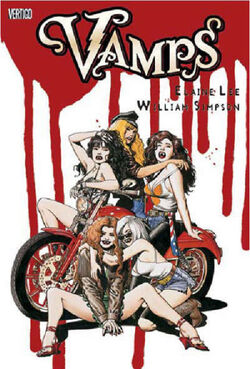 Cover for the Vamps Trade Paperback
