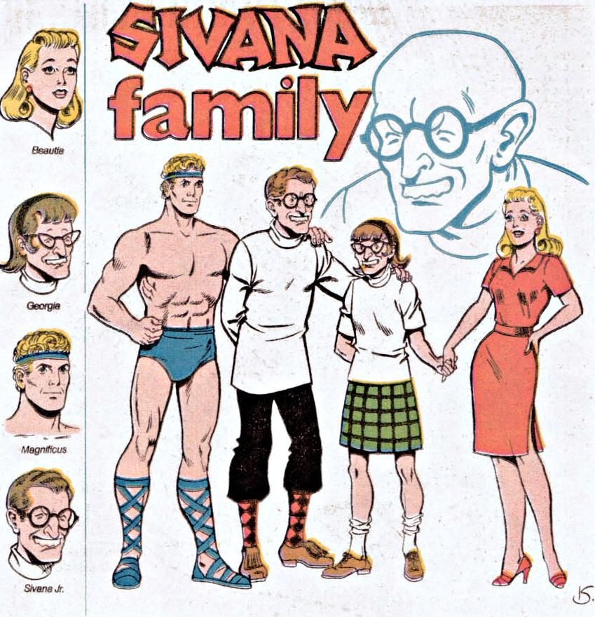 Image result for sivana family
