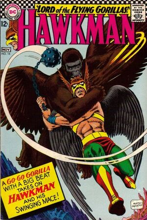 Cover for Hawkman #16 (1966)